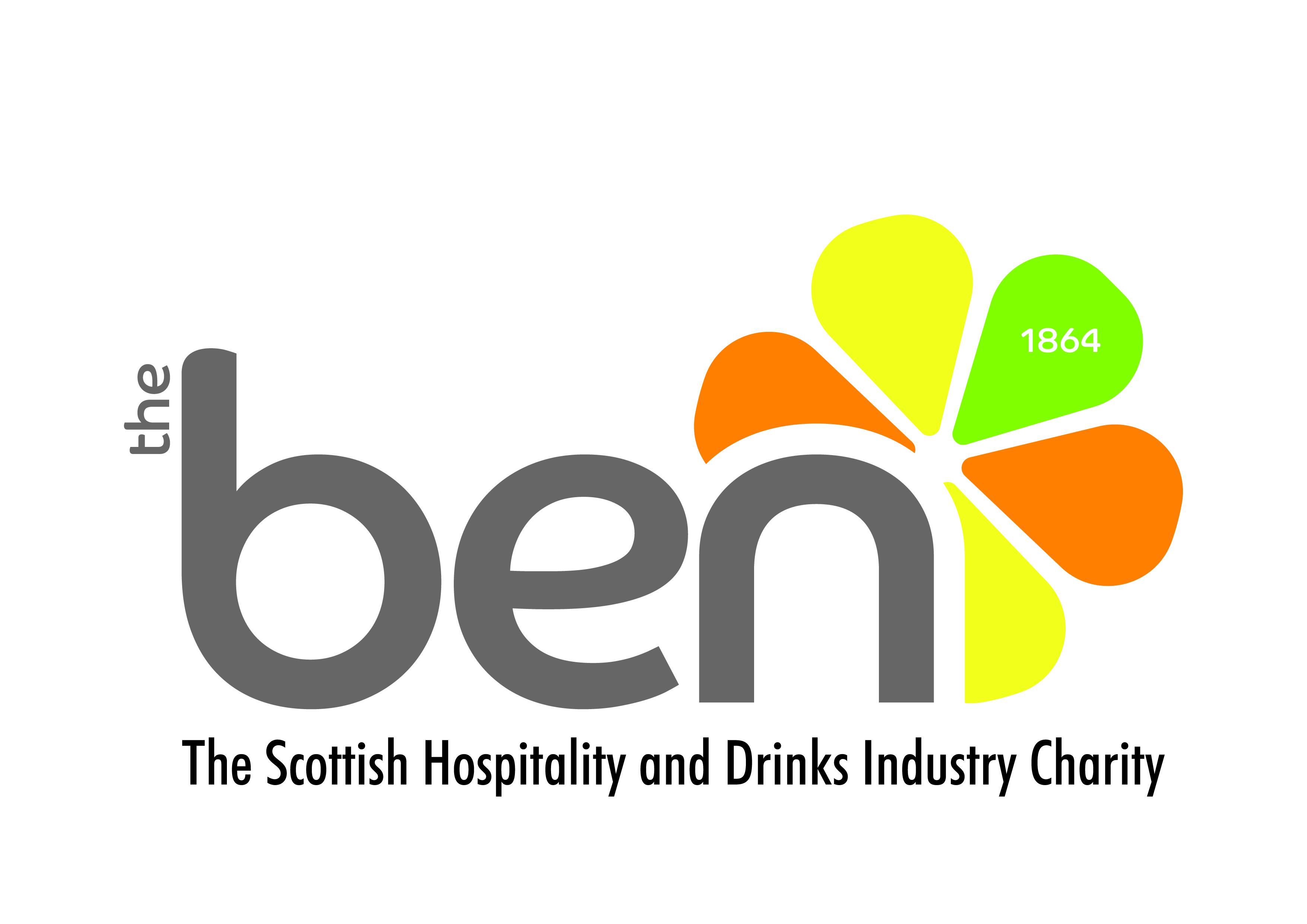 The Ben Logo with new strapline-01